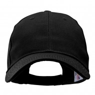 Made in USA Structured Chino Twill Cap - Black