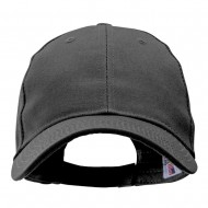 Made in USA Structured Chino Twill Cap - Charcoal