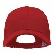 Made in USA Structured Chino Twill Cap - Red