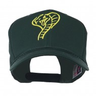 Cobra Embroidered Cap - Green