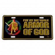 Assorted 3D Car Plates - Armor