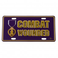 Assorted 3D Car Plates - Combat