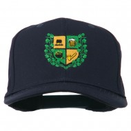 St Patrick's Day Crest Embroidered Cap - Navy