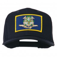 Connecticut State High Profile Patch Cap - Navy
