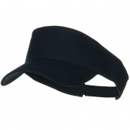 Cotton Twill Sun Visor - Navy