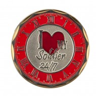 Proud U.S. Army Coin (2) - Red Love Soldier