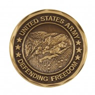 U.S. Army Division Coin (1) - Bronze Army