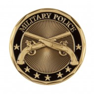 U.S. Army Division Coin (1) - Black Military