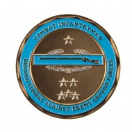 U.S. Army Division Coin (1) - Blue Combat