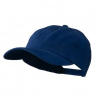 Deluxe Brushed Cotton Cap - Royal