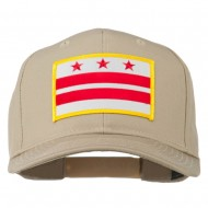 State of DC Embroidered Patch Cap - Khaki