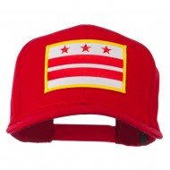 State of DC Embroidered Patch Cap - Red