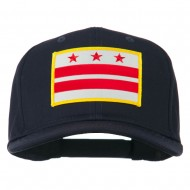 State of DC Embroidered Patch Cap - Navy