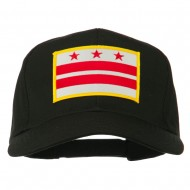 State of DC Embroidered Patch Cap - Black