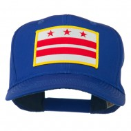 State of DC Embroidered Patch Cap - Royal