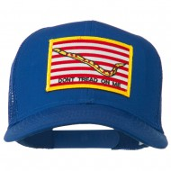 Don't Tread On Me Flag Patched Mesh Cap - Royal