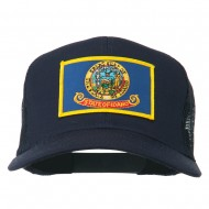 Idaho State Flag Patched Mesh Cap - Navy