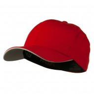 Flexfit Cool and Dry Transvisor Cap - Red Silver
