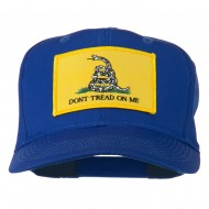 Don't Tread On Me Patched Cap - Royal