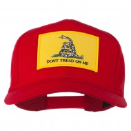 Don't Tread On Me Patched Cap - Red