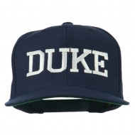 Halloween Character Duke Embroidered Snapback Cap - Navy