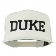 Halloween Character Duke Embroidered Snapback Cap - Natural