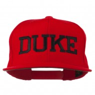 Halloween Character Duke Embroidered Snapback Cap - Red