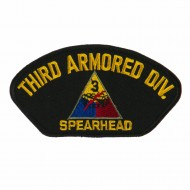 US Army Division Military Large Patch - Third Armored