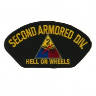 US Army Division Military Large Patch - Second Armored
