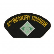 US Army Division Military Large Patch - 4th Infantry