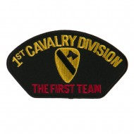 US Army Division Military Large Patch - 1st Cavalry