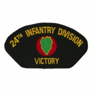 US Army Division Military Large Patch - 24th Infantry