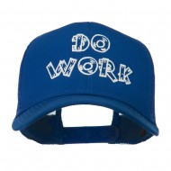 Do Work Embroidered Mesh Back Cap - Royal
