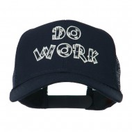 Do Work Embroidered Mesh Back Cap - Navy