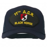11th ACR Black Horse Patched Mesh Cap - Navy