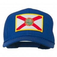 Eastern State Florida Embroidered Patch Cap - Royal
