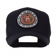 US Eastern State Seal Embroidered Patch Cap - Delaware