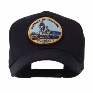 US Eastern State Seal Embroidered Patch Cap - DC