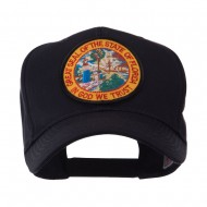 US Eastern State Seal Embroidered Patch Cap - Florida