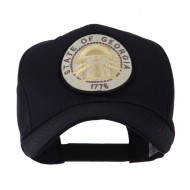 US Eastern State Seal Embroidered Patch Cap - Georgia
