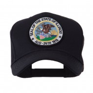 US Eastern State Seal Embroidered Patch Cap - Illinois