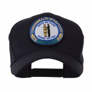 US Eastern State Seal Embroidered Patch Cap - Kentucky
