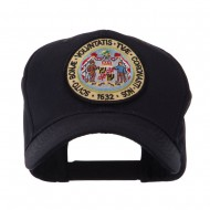 US Eastern State Seal Embroidered Patch Cap - Maryland