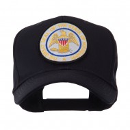 US Eastern State Seal Embroidered Patch Cap - Mississippi