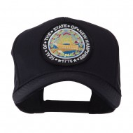 US Eastern State Seal Embroidered Patch Cap - New Hampshire