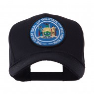 US Eastern State Seal Embroidered Patch Cap - New York