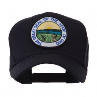 US Eastern State Seal Embroidered Patch Cap - Ohio