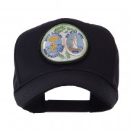 US Eastern State Seal Embroidered Patch Cap - South Carolina