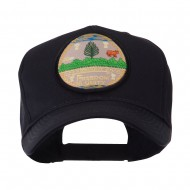 US Eastern State Seal Embroidered Patch Cap - Vermont