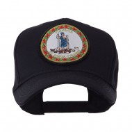 US Eastern State Seal Embroidered Patch Cap - Virginia